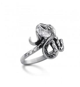 Кольцо из серебра Анаконда (19037)