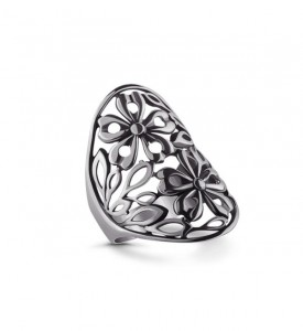 Кольцо из серебра Лето новое (19041)