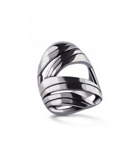 Кольцо серебряное Осока (19054)