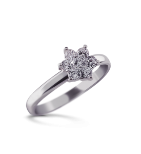 Кольцо серебряное Анюта (19062)