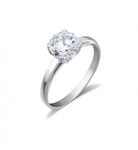Серебряное кольцо Рада циркон (19078р)