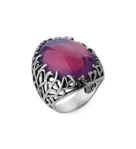 Серебряное кольцо Форест  (19085)