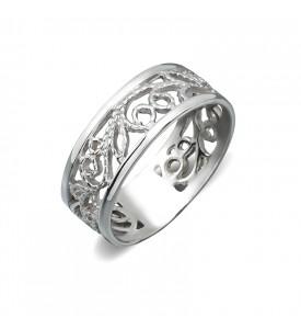 Кольцо из серебра Филигрань (19106р)