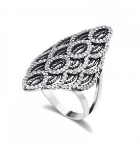 Серебреное кольцо Фриволите (19119)