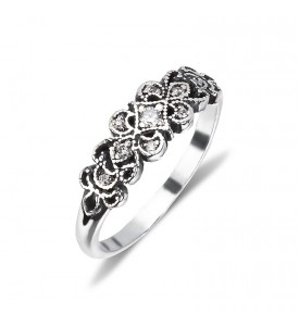 Серебряное кольцо Шантиль(19121)