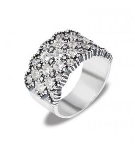 Кольцо из серебра Айсберг (19127)