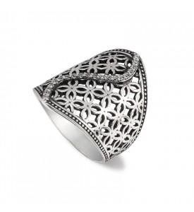 Серебряное кольцо Монреаль (19136)