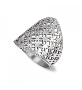Серебряное кольцо Монреаль (19136р)