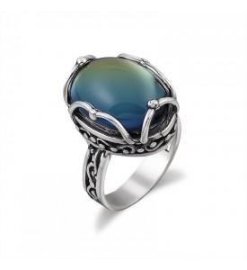 Кольцо из серебра Луиза (19149)