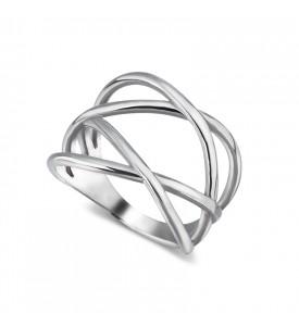 Кольцо из серебра Мулине-2 (19161р)