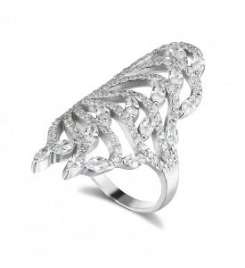 Серебреное кольцо Дюна (19165р)