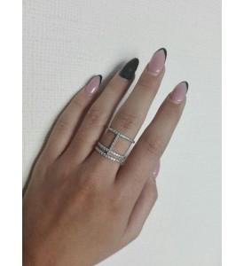 Серебряное кольцо Селин (19211р)