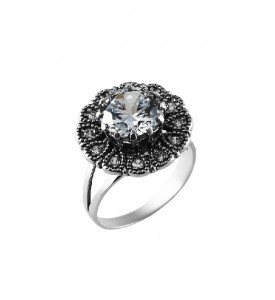 Кольцо из серебра Леона (19801)
