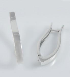 Серьги серебряные Лава (29064)