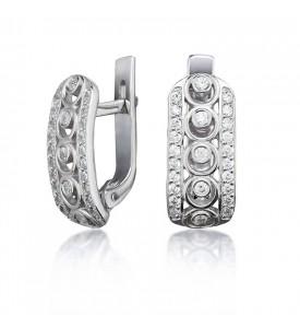 Серебряные серьги Декор (29127р)