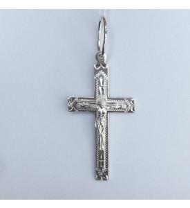 Крест прямой с распятием (3748-б)