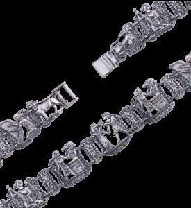 Браслет из серебра Египет (49010)