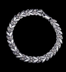 Браслет серебряный Гиацинт (49015)