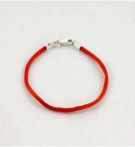 Красная нить браслет шёлк (59018)