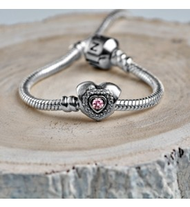 Шарм Сердце розовое (74088роз)