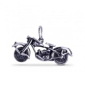 Мотоцикл серебряный (83198)