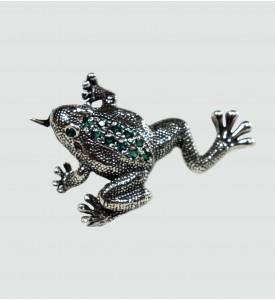 Брошь Лягушка (87007)