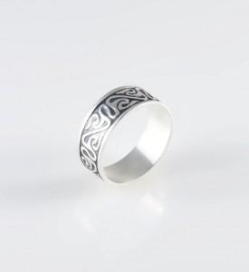 Кольцо серебряное Нагайна (19101)