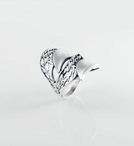 Кольцо из серебра Дефиле