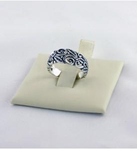 Кольцо из серебра Лавр (19072)