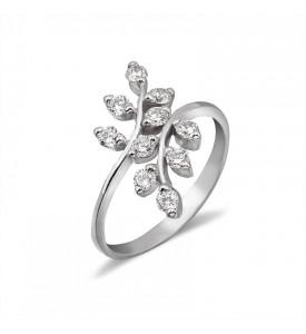 Серебряное кольцо Рябинка (19082р)