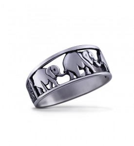 Кольцо из серебра Саванна
